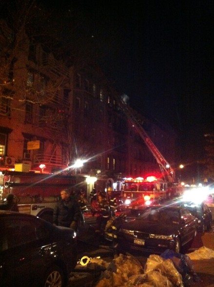 East Village Fire